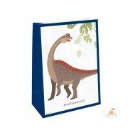 4 Sacchetti regalo Happy Dino - Carta
