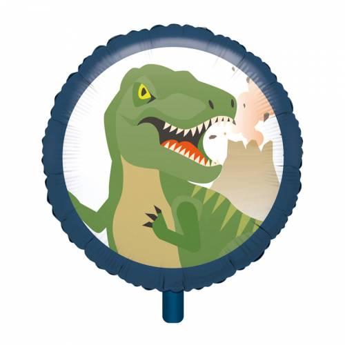 Palloncino piatto Happy Dino