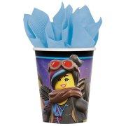 8 Bicchieri La Grande Avventura Lego 2