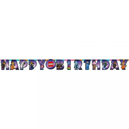 Ghirlanda Happy Birthday The Lego Movie 2: Una nuova avventura