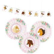 Kit decorazioni da appendere cavallo