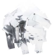 Coriandoli strisce maxi - Argento