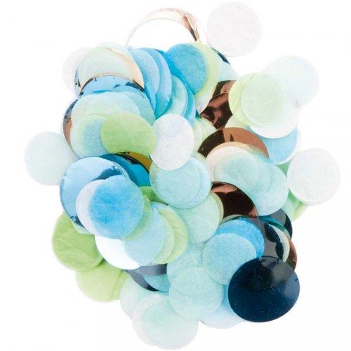 Mix coriandoli - Blu e verde