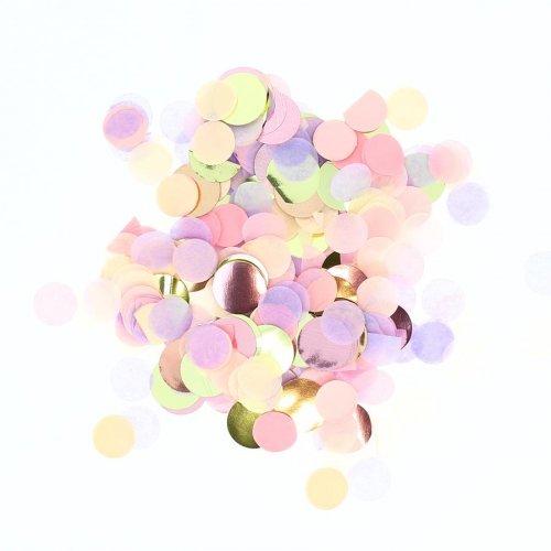 Mix coriandoli - Rosa pastello e lilla