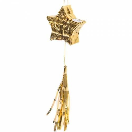 Mini Pinata Stella - Oro
