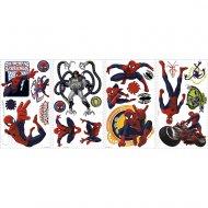 22 adesivi murali Spiderman