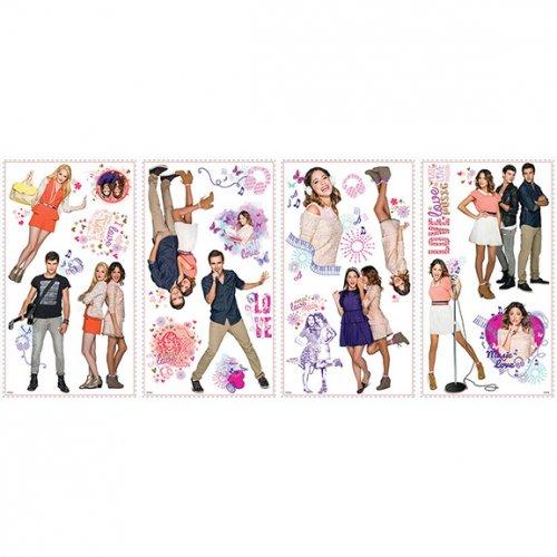 21 adesivi murali Violetta