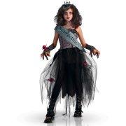 Travestimento Miss Gothic Queen taglia 5-7 anni