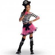 Costume Miss Pirata Gotica (Bambina)