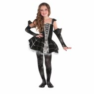 Costume Miss Ragno Argento
