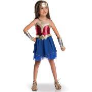 Travestimento Wonder Woman Justice League - Lusso taglia 5-6 anni