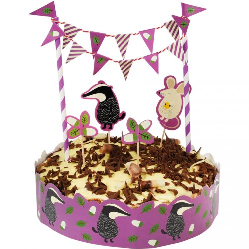 "Kit decorazioni per torte ""Monsieur Blaireau"""