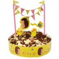 """Kit decorazioni per torte """"Madame Hérisson"""""""