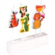 5 Mini candele Animali Colorama (3,5 cm)