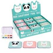1 Set Mini Panda Painting Set
