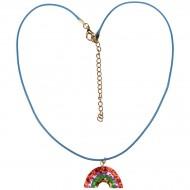1 Collana Glitterata Arcobaleno