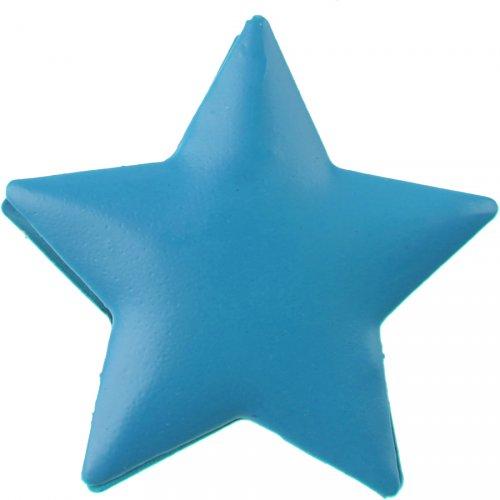 4 Mollette con stella turchese