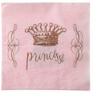 20 Tovaglioli Principessa Rosa