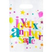 10 Sacchetti regalo Buon compleanno multicolore