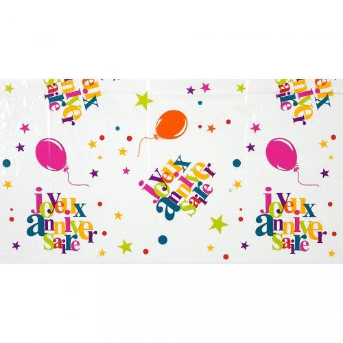 Tovaglia Multicolore Buon Compleanno