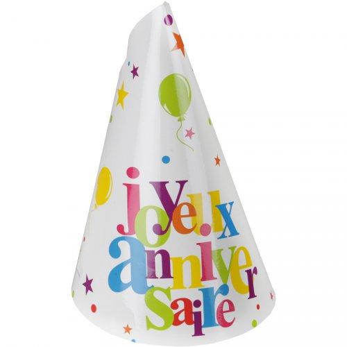 10 Cappelli Buon Compleanno Multicolori