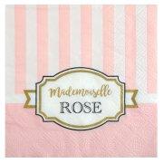 20 Tovagliolini Mademoiselle Baby Rosa