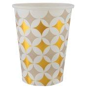 10 Bicchieri Azulejos Latina Oro