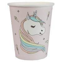 Contiene : 1 x 10 Bicchieri Unicorno