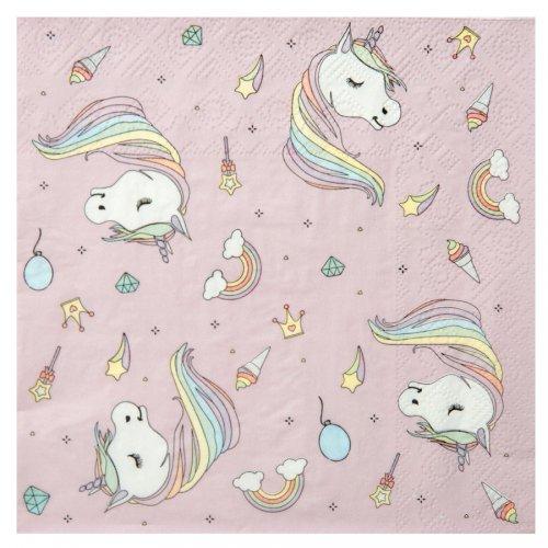 20 Tovaglioli Unicorno