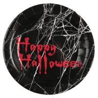 Contiene : 1 x 10 Piatti Happy Halloween