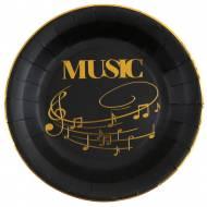10 Piatti Musica - Oro Nero