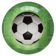 10 Piatti Calcio verde