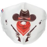 Maschera Lavabile Indiani e Cowboy Taglia unica