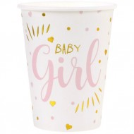 10 Bicchieri Baby Girl