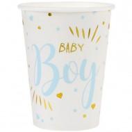 10 Bicchieri Baby Boy
