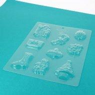 Stampo 9 Cioccolatini Natale Tradizione - Plastica