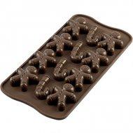 Stampo Easy Choc 12 Pupazzi e Bastoncini di Zucchero 3D (4 cm) - Silicone