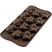 Stampo Easy Choc 12 Angeli 3D - Silicone