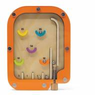 1 Flipper di Legno - Arancione