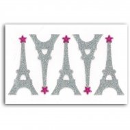5 adesivi Eiffel Strass Towers Eiffel Strass Towers