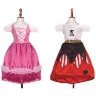Costume Principessa/Pirata Reversibile Luxury