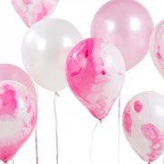 12 Palloncini Love Pink