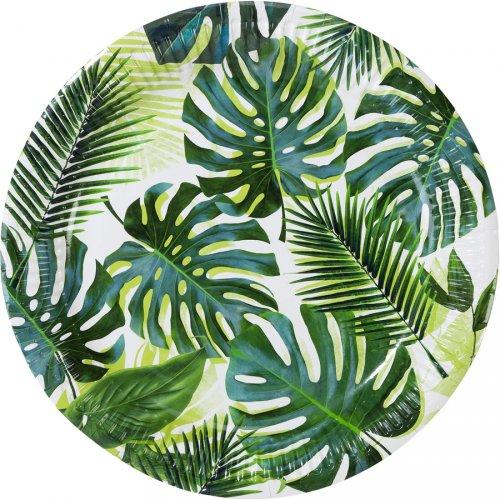 8 Piatti Tropico Giungla