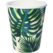 8 Bicchieri Tropico Giungla