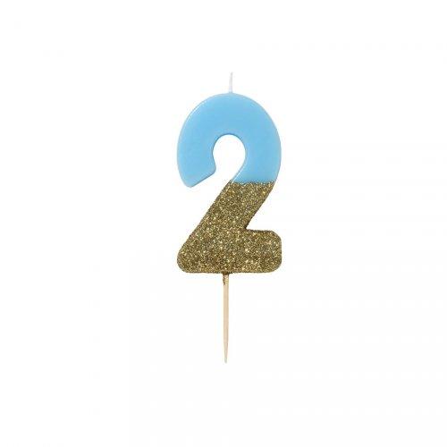 Candela Blu Oro Numero 2