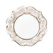 12 Piatti Elegance Oro Rosa