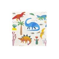 Contiene : 1 x 20 Tovaglioli Dino Colors