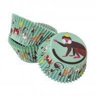 30 Pirottini per cupcake Jungle Fun