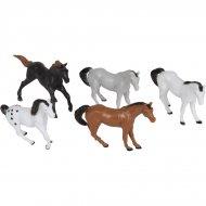 10 figure di cavallo (4,5 cm) - plastica