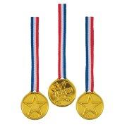 5 medaglie d'oro Vincitore tricolore